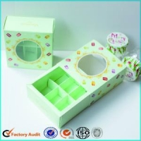 China Custom Macaron Packaging Boxes With Sleeve on sale
