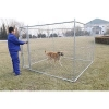 China Top Sell New Design Galvanized Chain link Dog Kennel for sale