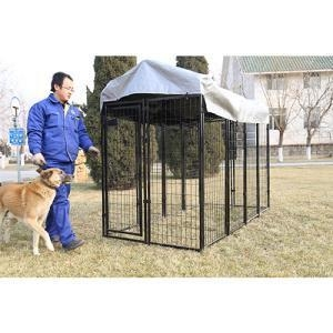 China Welded Wire Dog Run Kennel on sale