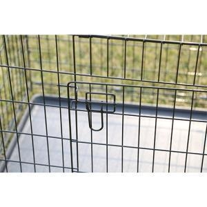 China Hot Sell Two Doors Large Dog Cage on sale