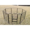 China Metal Tube Wire 8 Or 6 Panel Pet Dog Exercise Playpen for sale