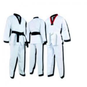 China WTF taekwondo competition dress white uniform on sale