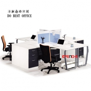 China Open Modular Office Furniture Workstation Cubicle Workstation Partition on sale