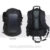 China 6.5W Sunpower light weight solar panel for backpacking on sale