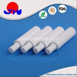 China High quality glazed alumina ceramic tube on sale