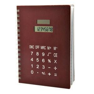 China A5 Size Notebook with Calculator on sale