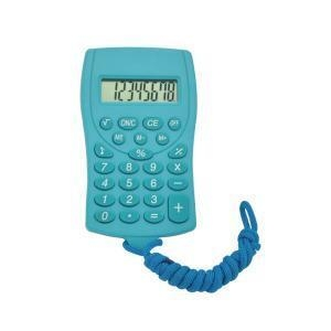 China 8 Digits Cute Cookie Pocket Calculator with Lanyard on sale