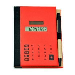 China New Design Pu Cover Touch Screen Notebook Calculator with Pen on sale