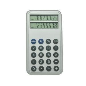 China 8 Digits Dual Screen Currency Exchange Rate Calculator on sale