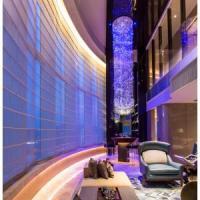 China Hall decoration led fiber optic chandelier light on sale