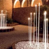 Outdoor decoration RGB fiber optic glow stick led light