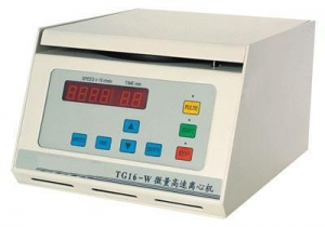 China Benchtop High Speed Micro Centrifuge CCLE-TG16-W on sale