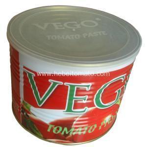 China Big Tomato Paste in Tin on sale