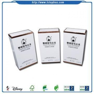 China Luxury Cosmetic Paper Box Packaging Printing on sale