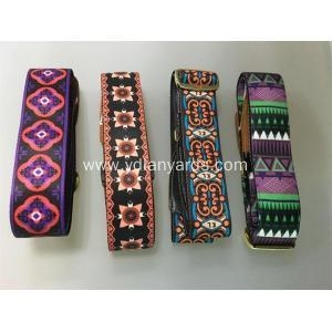 China Colorful Durable Personalized Guitar Straps on sale