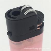 7.3cm Diposable Translucent Flint Lighter
