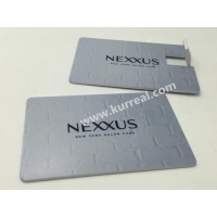 China Promotional Wafer Card USB Drives Digital Colour Printing Gifts on sale