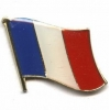 China France & French Flag Pins for sale