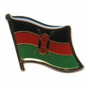China Kenya Flag Pins on sale