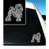 China Dogs Lowchen Rhinestone Car Decal: Wholesale Products for sale