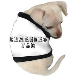 China Dogs Chargers Fan Dog T-Shirt: Wholesale Products on sale