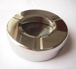 China Stainless Windproof Table Ashtray on sale