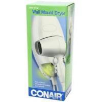Conair 1600 Watt Wall Mount Hair Dryer with LED Nightlight - 134R