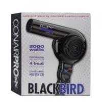 Conair Pro Blackbird Hair Dryer 2000 Watt - BB075W