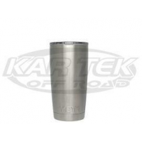 Yeti 20 Ounce Rambler Double Wall 18/8 Stainless Steel Cup/Travel Mug For Hot Or Cold Beverages