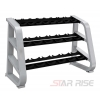 China F7994T Triple Tier Dumbbell Rack for sale