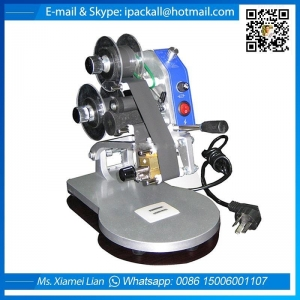 China DY-8 Manual Portable Hot Foil Expiry Date Stamping Machine on sale