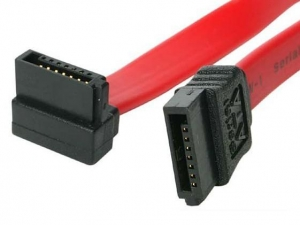 China USB Cable Right Angle SATA 7P on sale