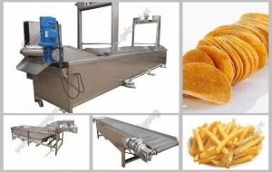China Potato Chips Processing Plant Manufacturer supplier
