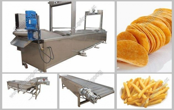 China Potato Chips Processing Plant Manufacturer