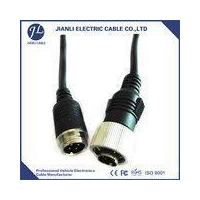 Weaco Reversing Camera Cable ROHS waterproof car backup monitor 13 pin din cable