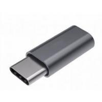 China SJ-A104 Type C to Micro USB Female Aluminum Adapter on sale