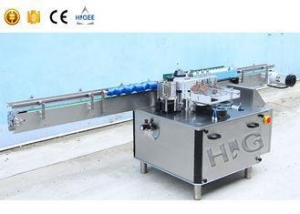 China Automatic Label Applicators Automatic Labeler Machine For Round Bottle on sale