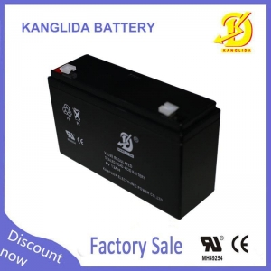 China 6v 12ah lead acid electric toy car battery on sale