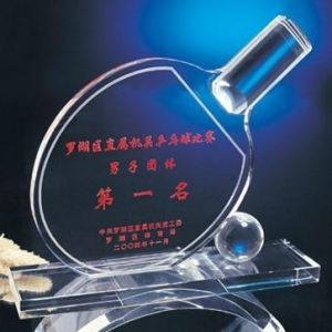 China Crystal trophy Name: Crystal trophy on sale