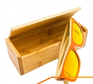 China Exquisite high quality sunglasses wood packaging boxes on sale