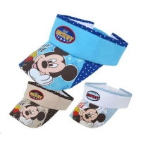 China cartoon sun visor cap/high quality baby sun visor cap on sale