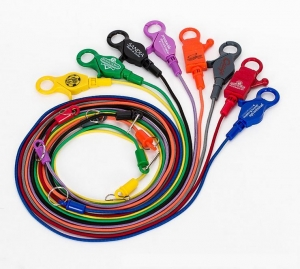 China New Design Cheap Promotional Custom Elastic Cord Lanyard Wit on sale