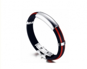 China custom antistatic wrist strap with silicone material on sale