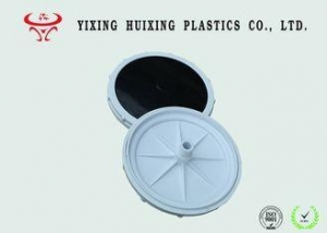 China Flat Round Fine Bubble Air Diffuser 3/4'' Screw With EPDM Membrane on sale