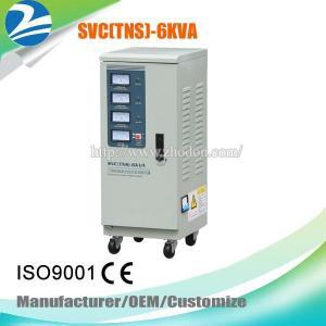 China TNS/SVC-6KVA Three Phase AC Automatic Voltage Regulator Servo Motor Stabilizer on sale