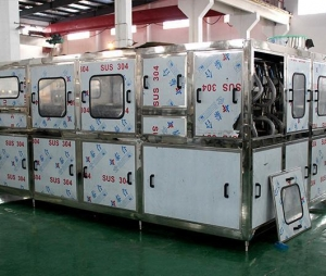 China 450BPH Barreled production line on sale