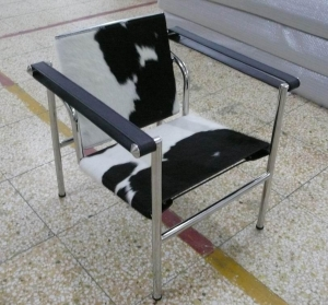 China le corbusier LC1 chair modern pony lounge chair DIS-L-0055 on sale