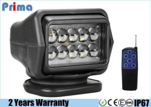 China 50w Magnetic Remote Control Searchlight, 360  Rotate Led Marine Spotlight on sale