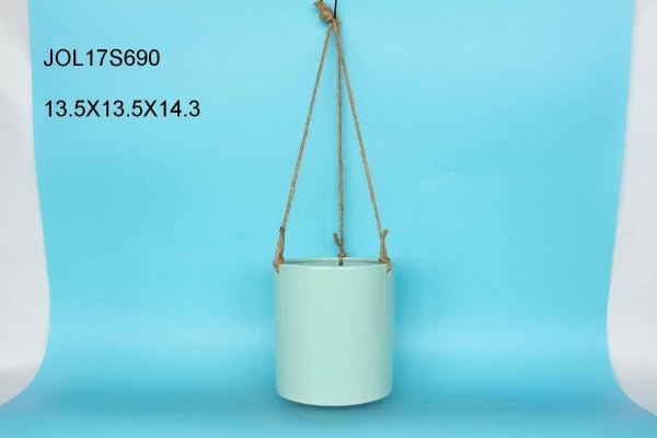 China ceramic hanging flower pot JOL17S690