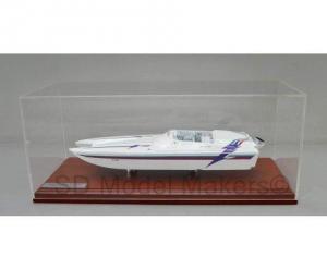 China Custom Power Boat Models Daytona Eliminator - 18 Inch Model on sale